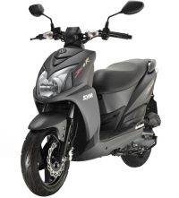 Cutting through the backstreets or hitting the beach on the Jet4R Naked; you'll get noticed on the latest SYM sports scoota. With 2-stroke power, large wheels and naked styling this 50cc will take you wherever you want to go.