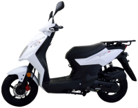 One of the most cost effective and practical ways to deliver anything, anywhere, anytime. The Ute Scoot has proven itself in the European market and is a great addition to the SYM group expanding into commercial businesses.
